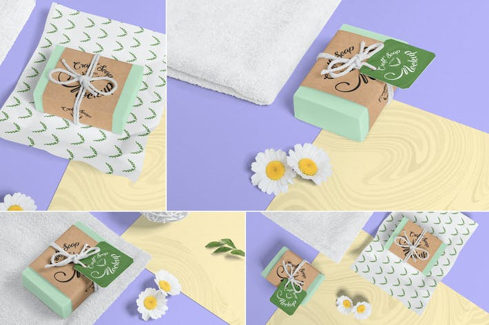 Craft Soap Bar Mockups