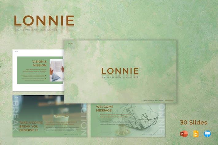 Thumbnail for Lonnie - Шаблон презентации