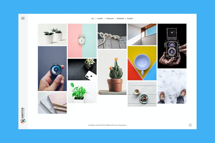 Thumbnail for Shutter - Photography HTML5 Template