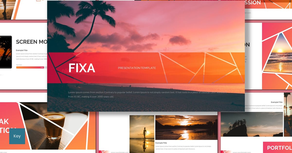 Download Fixa - Creative Keynote Template by inspirasign