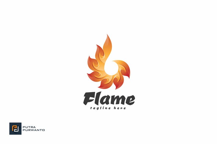 Flame - Logo Template
