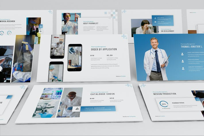 Pharmalist Powerpoint Presentation Template
