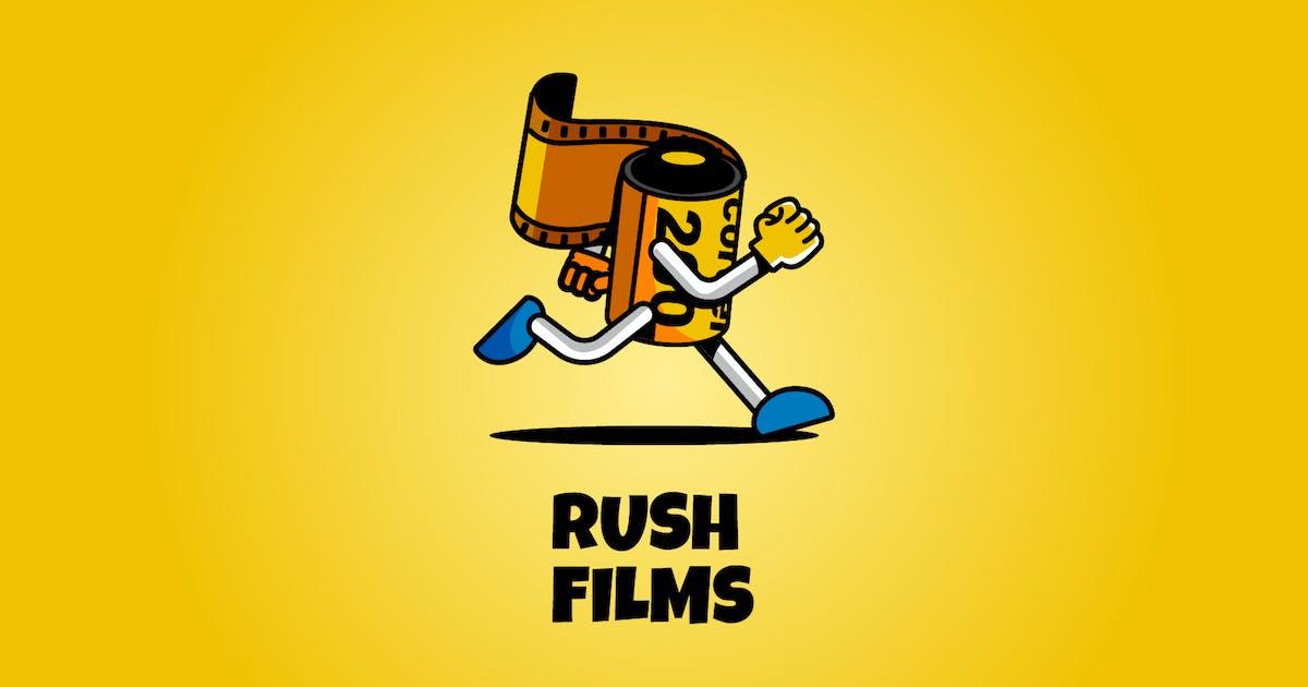 Download rush films - Mascot & Esport Logo by aqrstudio