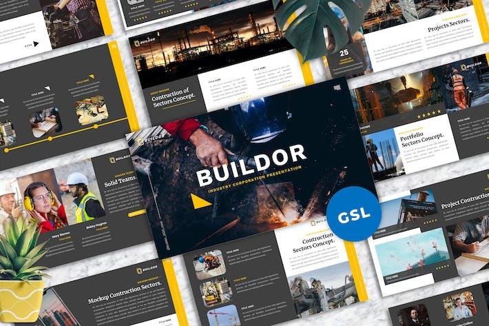 Thumbnail for Buildor - Contruction Industrial Googleslide