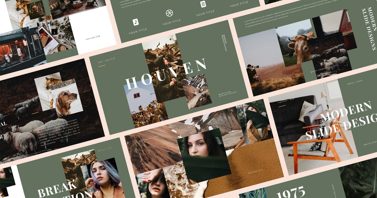 Download Houven Creative PowerPoint Template by BervisualStd
