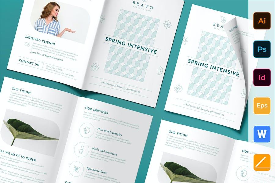 Beauty Salon Brochure Bifold