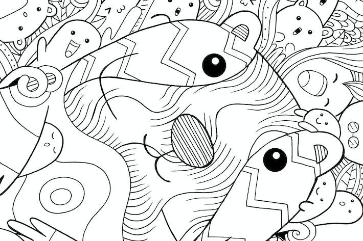 Lutrinae Doodle