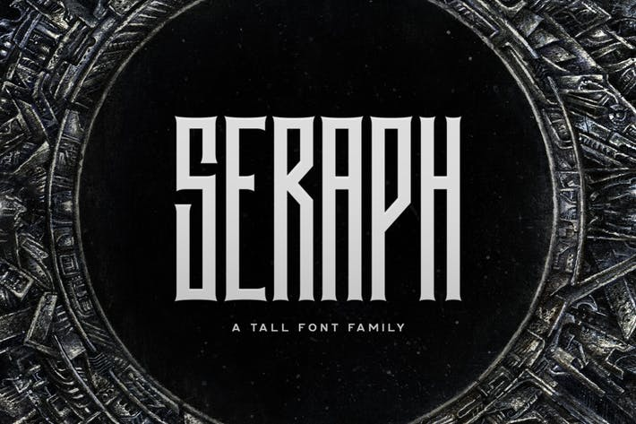 Thumbnail for Seraph Typeface