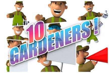 10 fun Gardeners !
