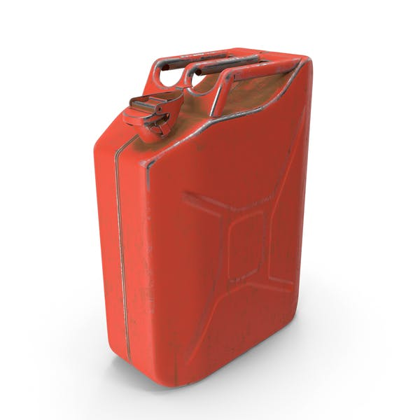Canister Painted Red
