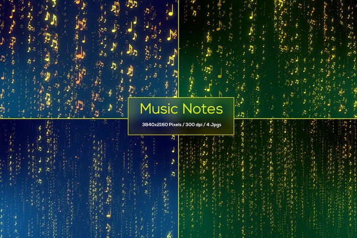 Thumbnail for Music Notes Backgrounds