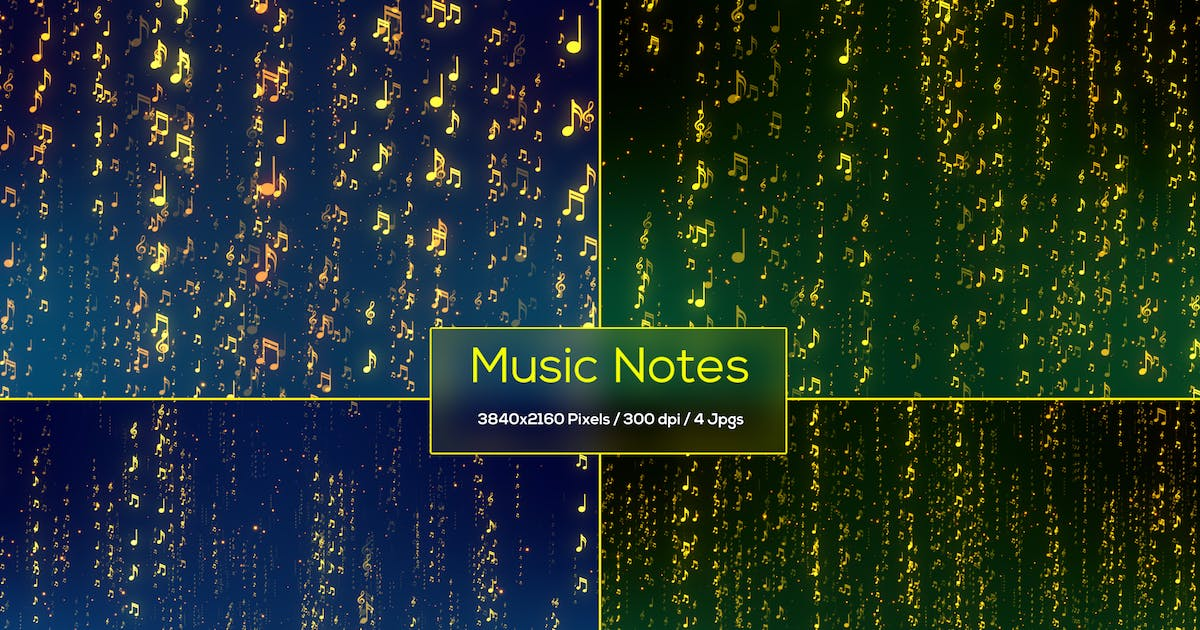 Download Music Notes Backgrounds by StrokeVorkz