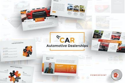 Car Dealerships Powerpoint Template