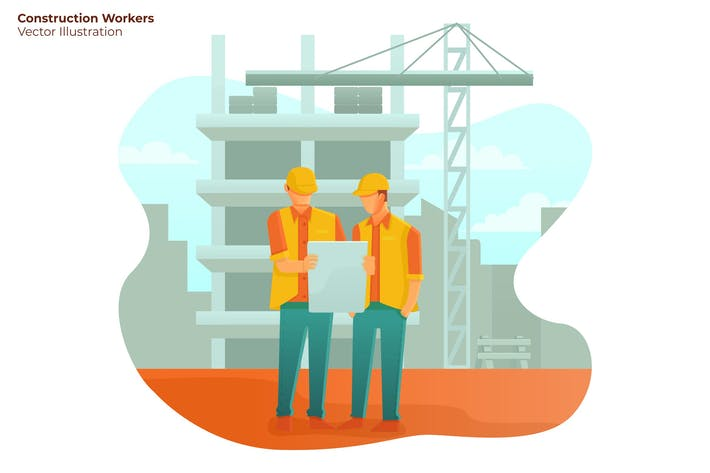 Thumbnail for Construction Workers - Vector Illustration