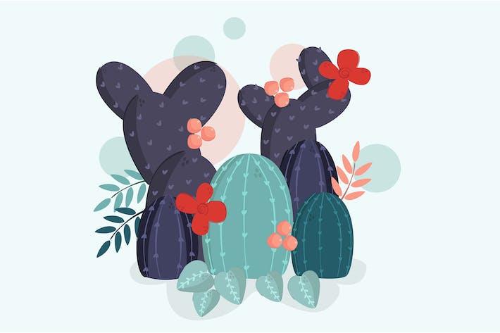 Thumbnail for Kaktus-Illustration-Vektor