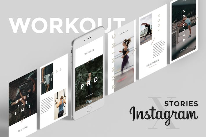 Thumbnail for Workout Social Media Pack