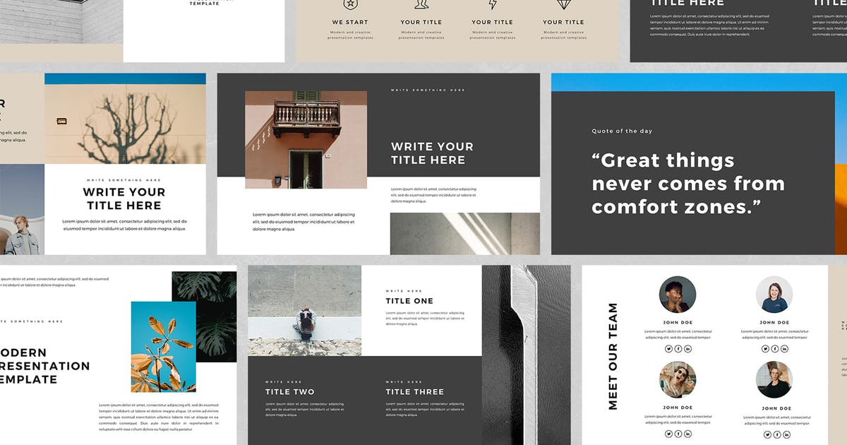 Download Hulyo PowerPoint Template by BervisualStd