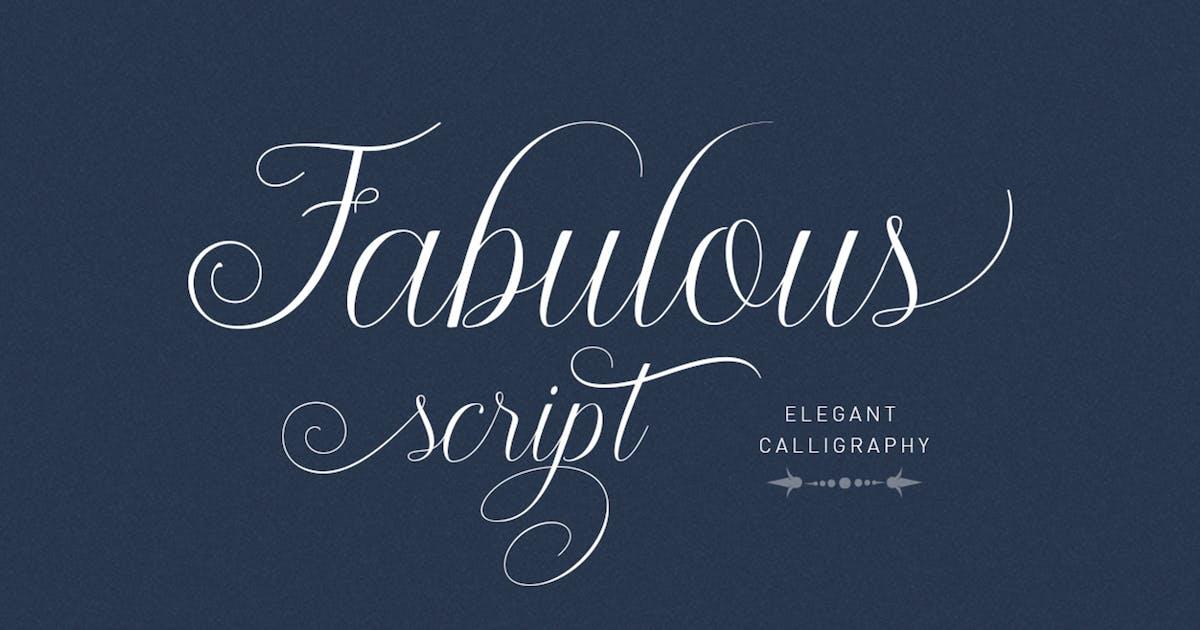 Download Fabulous script by Areatype
