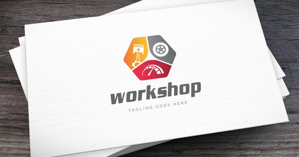 Download Workshop Logo Template by empativo