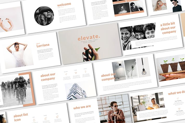 Thumbnail for Elevate Presentation Template