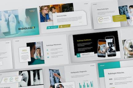 Radiology Diagnostic Powerpoint Presentation Templ