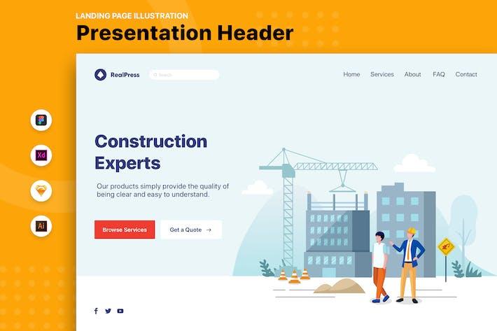 RealPress - Web Header Template