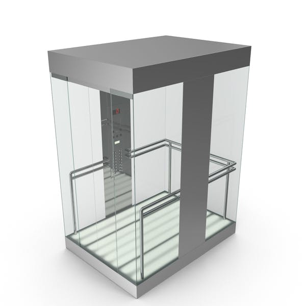Thumbnail for Glass Elevator Car