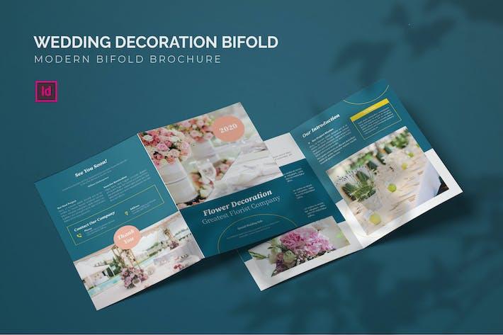 Wedding Decoration - Bifold Brochure
