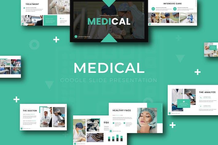 Thumbnail for Medical - Google Slide Template