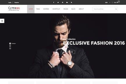 Vêtements - eCommerce Mode Modèle