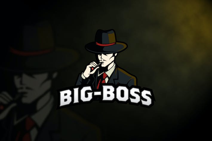 Thumbnail for Big Boss Logo Templates
