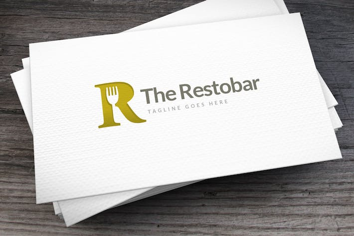 Thumbnail for Restobar Letter R Logo Template