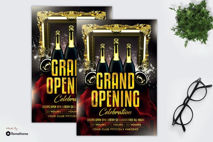 Thumbnail for Grand Opening - Flyer MR