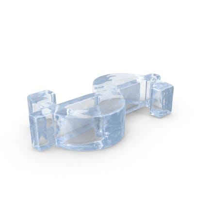 Ice Dollar Symbol