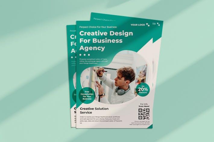 Thumbnail for Agency Creative Flyer