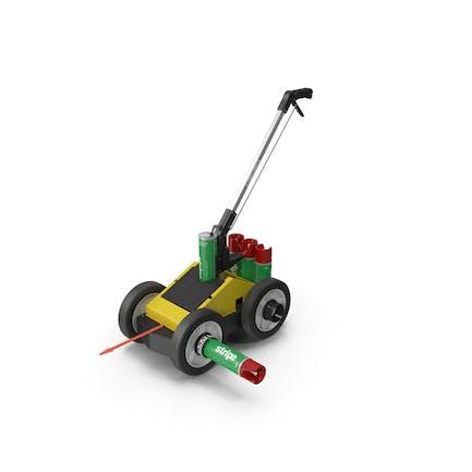 Linienmarkierungs-Applikator für Gras