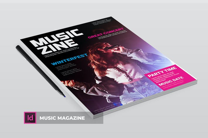 Thumbnail for Music | Magazine Template