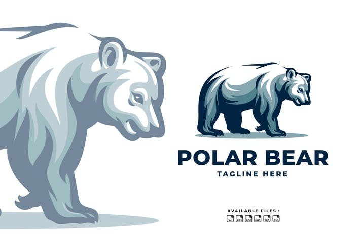 Thumbnail for Polar Bear Classy Logo