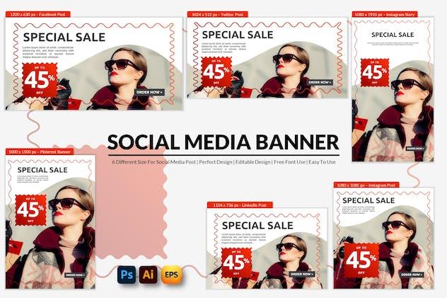 Special Sale Social Media Banner
