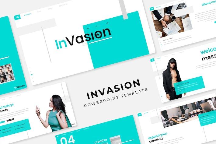 Thumbnail for Invasión: Plantilla PowerPoint