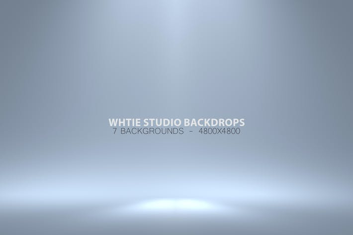 White Studio Backdrops