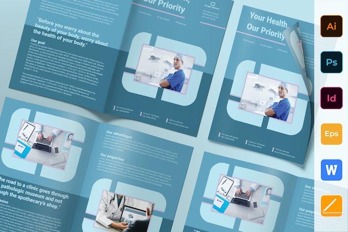 Thumbnail for Clinic Brochure Bifold