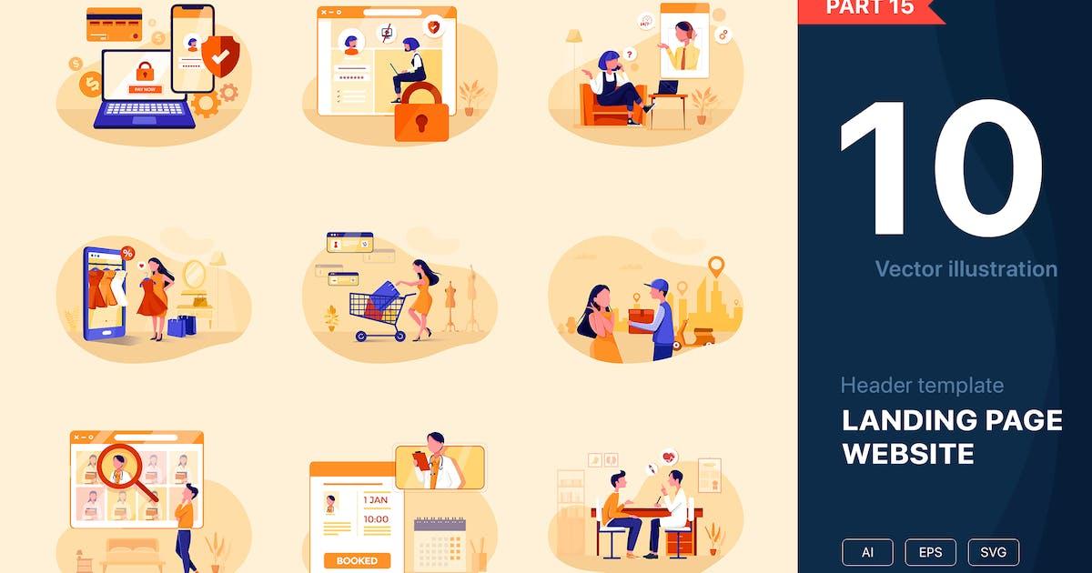 Download [Part 15] Website Illustrations Set by hoangpts