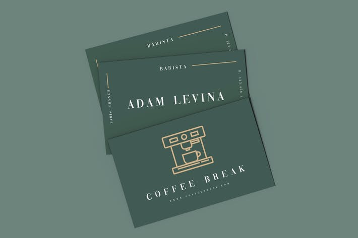 Thumbnail for Coffee Break Business Card