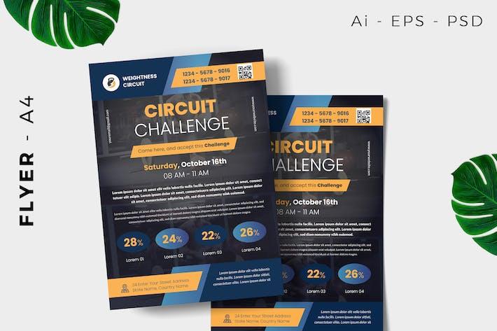 Circuit Car Flyer Design