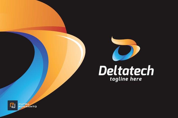 Thumbnail for Deltatech / Letter D - Logo Template