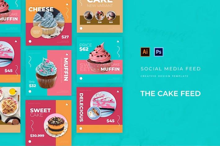 Thumbnail for The Cake Social Media Post