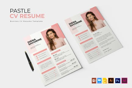 Pastle | CV & Resume