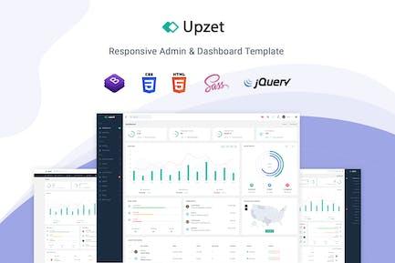 Upzet - Admin & Dashboard Template