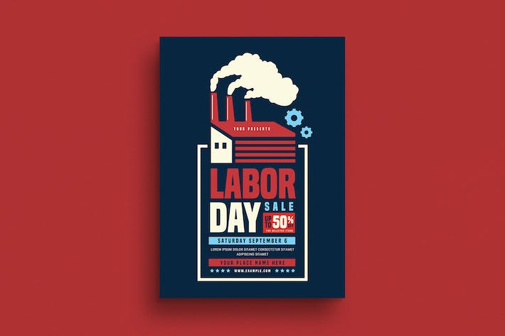 Thumbnail for Labor Day Event Flyer